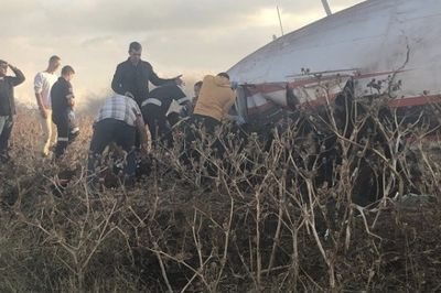 UPDATE: Dramatic footage from inside the aeroplane that crashed into a factory at Wonderboom airport