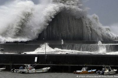 Typhoon Jebi Is The Strongest Storm To Hit Japan In 25 Years