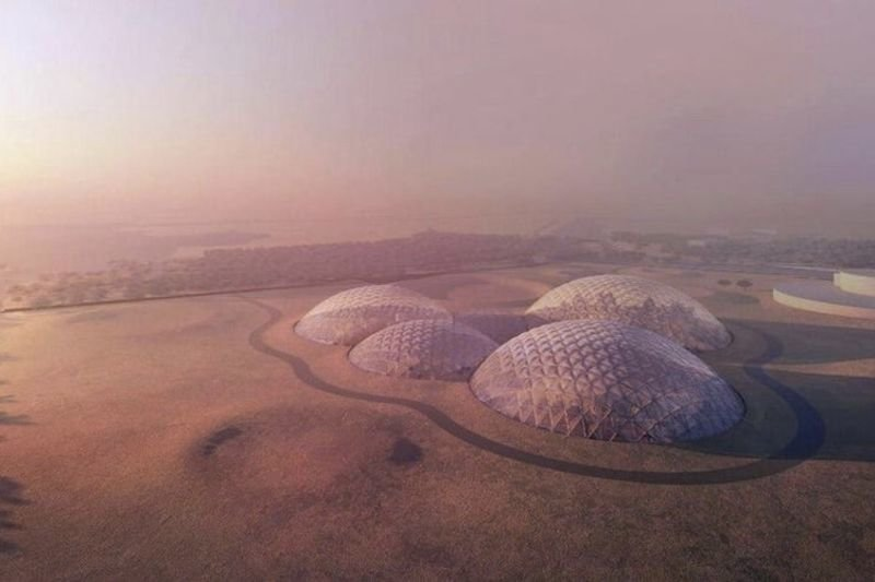 Video: Checkout This Incredible Mars City The Uae Is Building For Training. 1