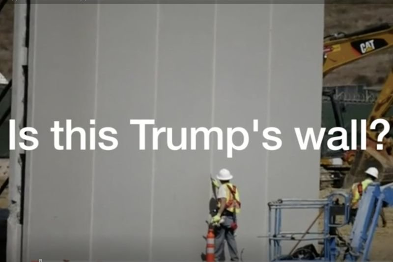 Video: Construction Begins For Trump