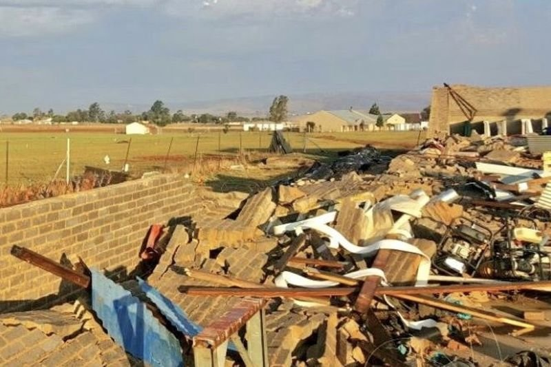 Video: One Dead And Four Injured In Storms On The West Rand, Gauteng 1