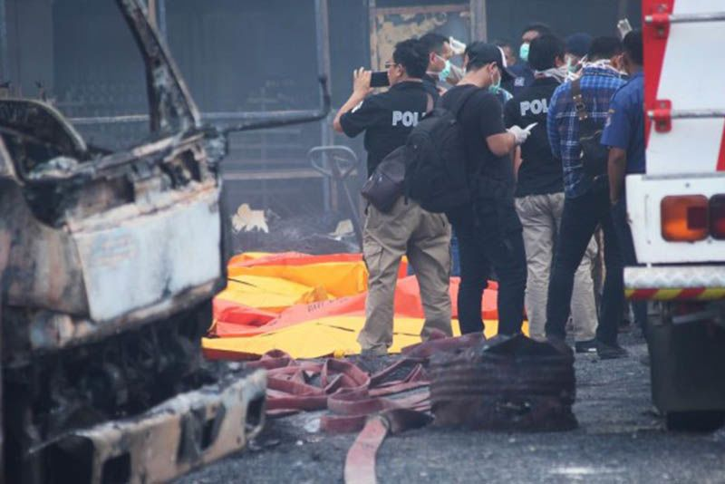 Indonesian Fireworks Factory Explodes, Killing 23 1