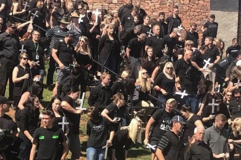 Black Monday: South Africans Are Protesting Against Farm Murders 1