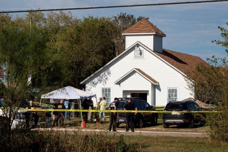 26 Dead, Including 8 Members Of One Family In Texas Church Shooting. 1