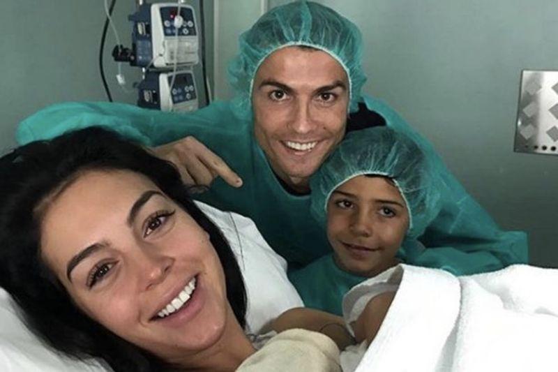 Video: Ronaldo Announces Baby Girl, Alana, Into The World 1