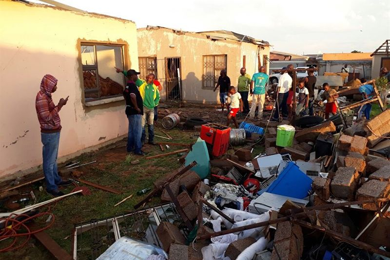 Video: Local State Of Disaster Declared In Johannesburg Following Storm 1