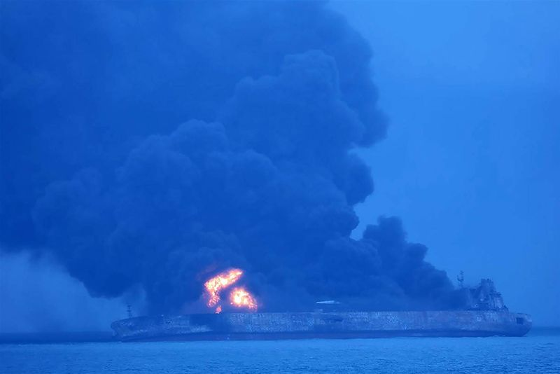 Video: 32 Missing After A Tanker Collided With A Cargo Ship Near Shanghai 1