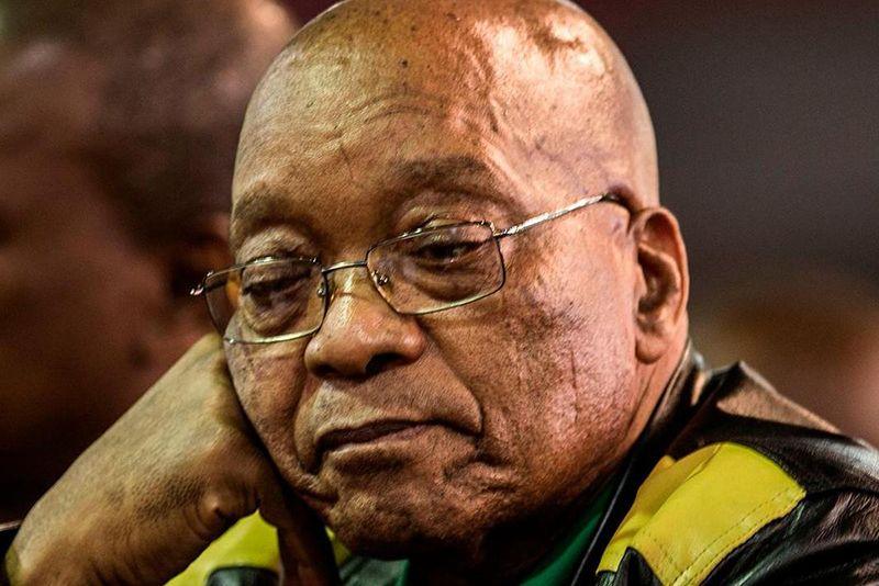 Zuma Survives His First Nec Meeting Under Ramaphosa 1