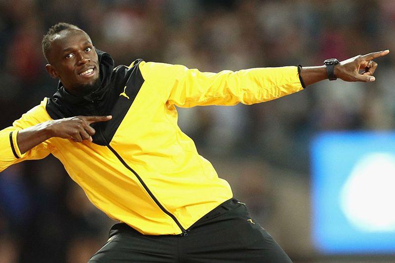 Video: Olympian Usain Bolt Trains With Mamelodi Sundowns 1