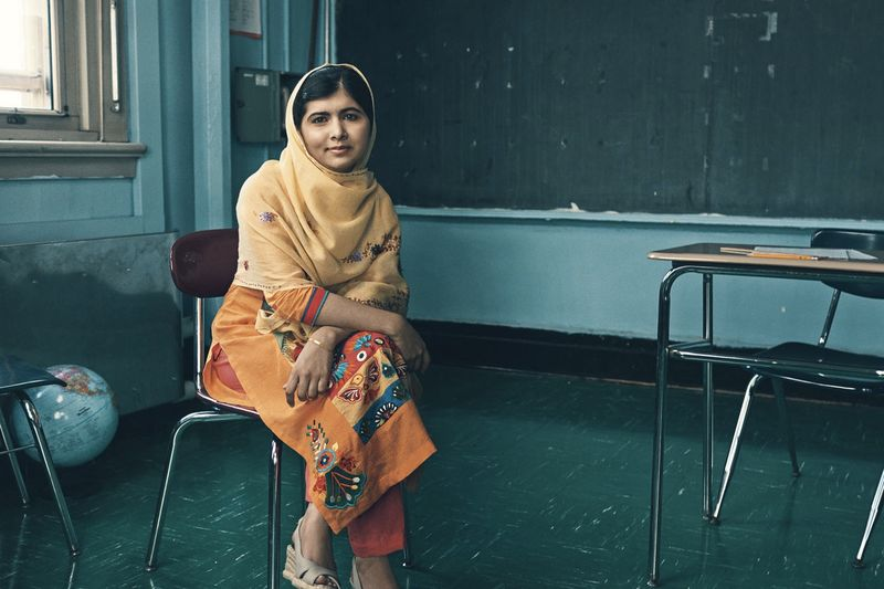Video: Malala Yousafzai Fearlessly Returns Home After Being Shot By The Taliban 1