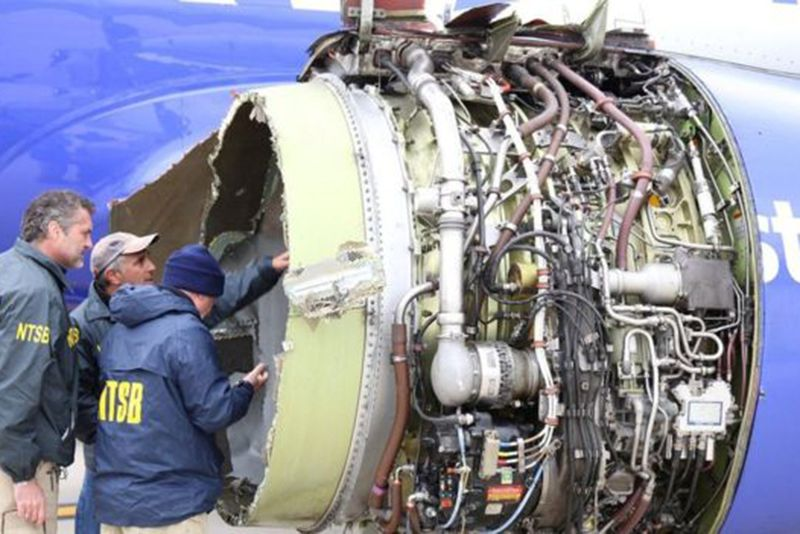 Video: One Woman Killed After Southwest Airlines Jet Engine