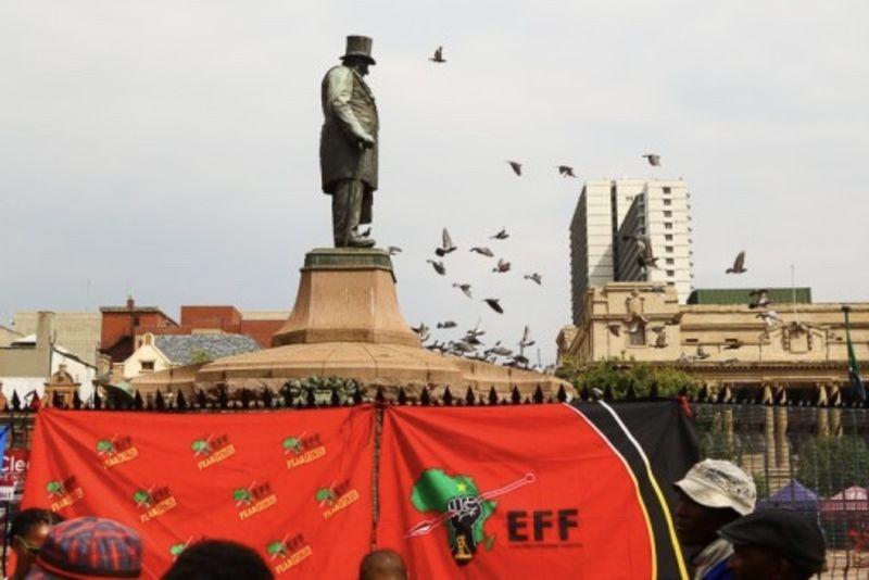 Eff Threatens To Destroy Paul Kruger Statue To Commemorate Winnie Mandela 1