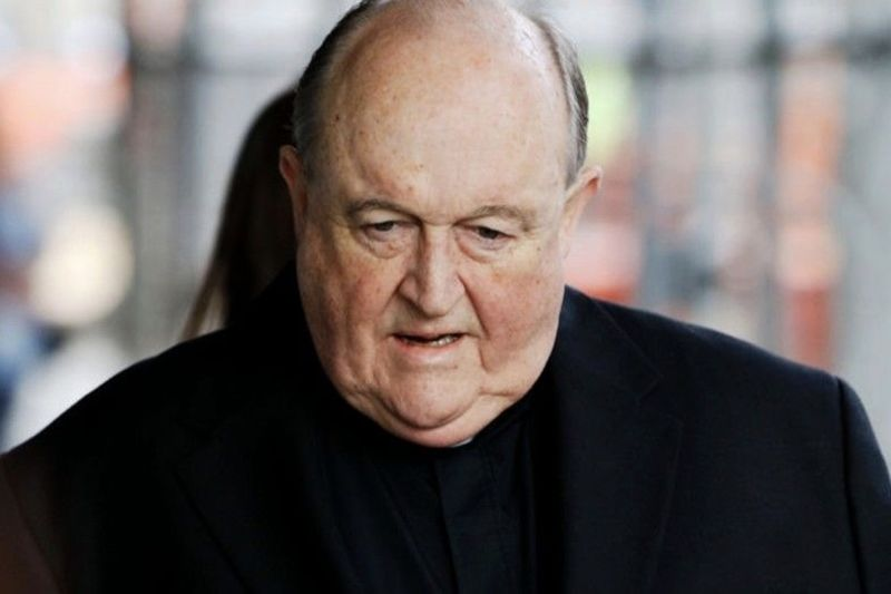 Australian Archbishop Guilty Of Hiding Child Sex Abuse 1