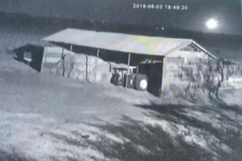 Video: Meteorite Caught On Security Camera As It Crashes In Botswana 1