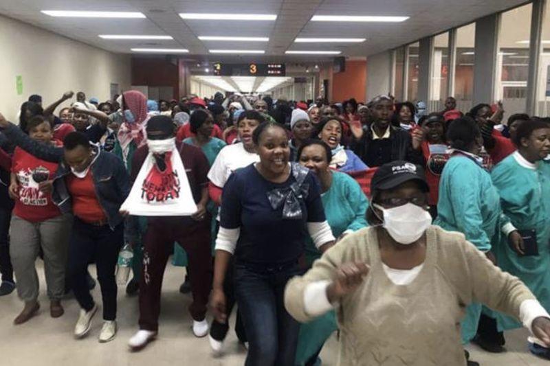 Video: Protestors Violently Deny Innocent People