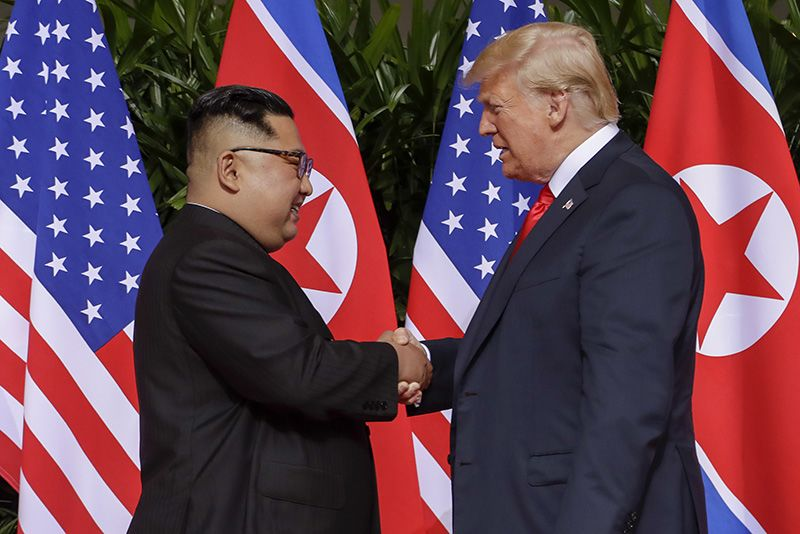 Trump And Kim: Us And North Korean Leaders Make History 1