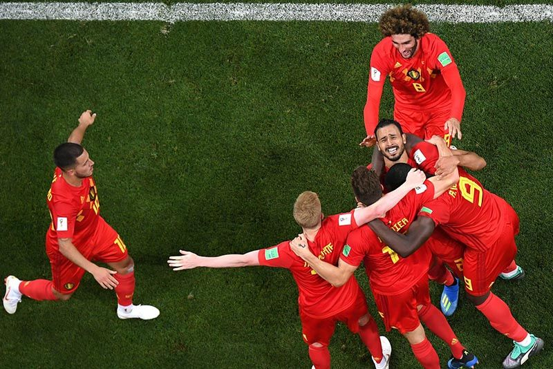 Video Belgium Beat Japan In The Dying Seconds Of A World Cup Last 16 Cracker 1