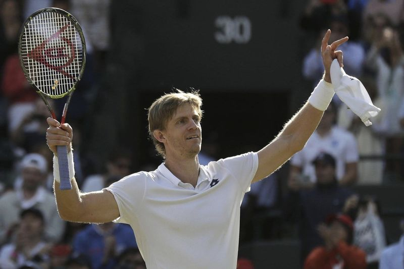 Video: Kevin Anderson Boasts Epic Victory Against Federer In Wimbledon Quarter Finals 1