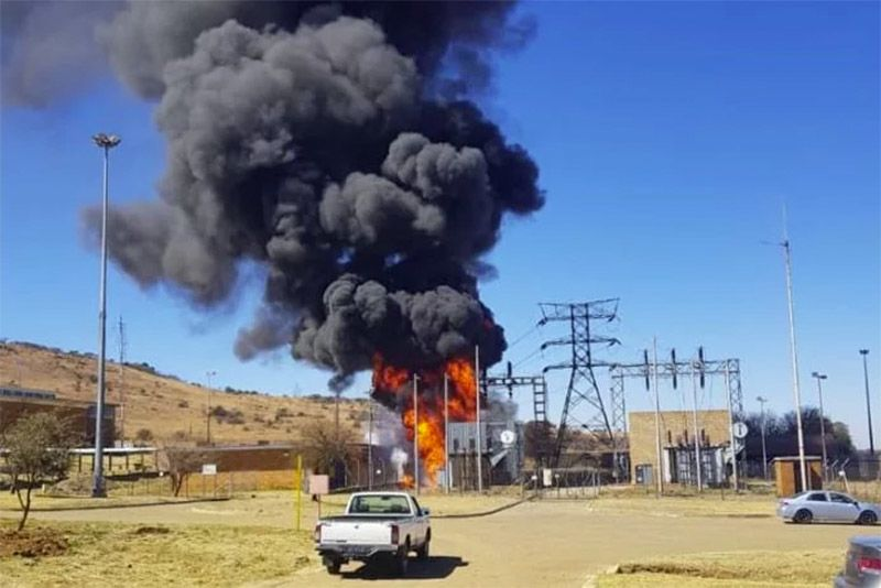 Water Pumping Station Explodes In Gauteng 1