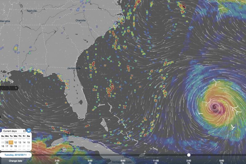 State Of Emergency Declared As Hurricane Florence Approaches The Us 1