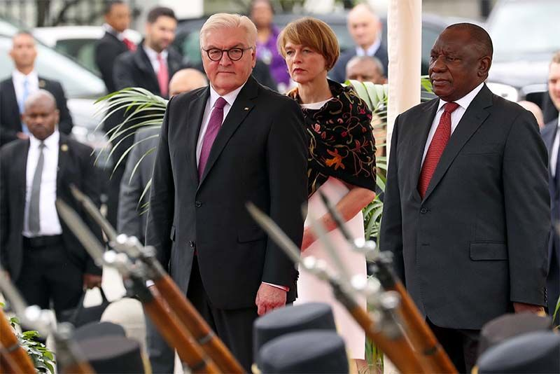 Ramaphosa Tells German Counterpart There Will Be No land grabs in SA 1